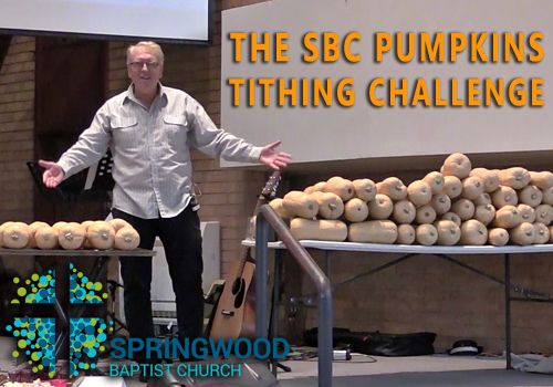 Try the SBC Pumpkins Tithing Challenge – And See if You Go Hungry! - Christ.net.au