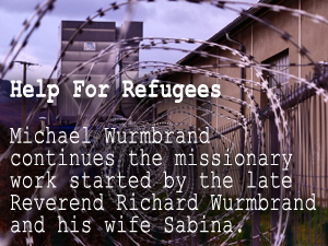 Michael Wurmbrand's Help for Refugees