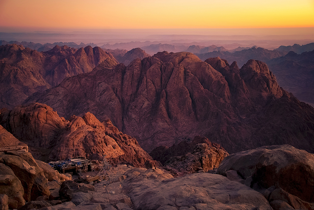 Mount Sinai, also known as Mount Horeb, is the traditional and most accepted identification of the biblical Mount Sinai