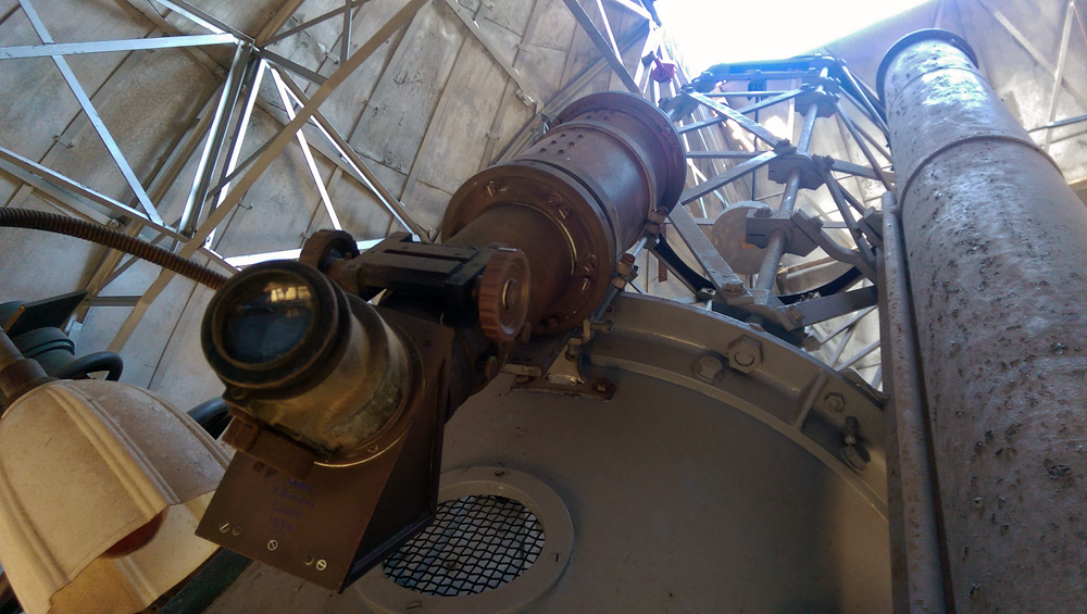 The telescope at Linden Observatory built by Ken Beames. Ken was a key figure in my budding interest in both astronomy and new-age mysticism.
