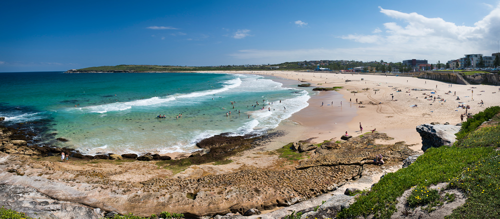 Maroubra Beach in Sydney, NSW, Australia. I lived 140 metres from the ocean until I turned one.